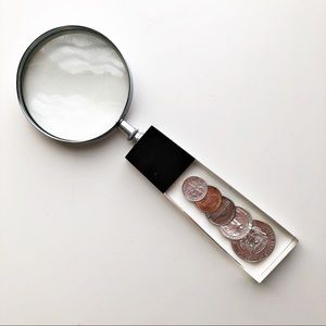 Vintage Collectible 1965 Coin Magnifying Glass